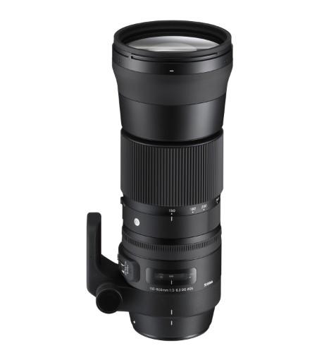 Sigma 150-600mm F5-6.3 DG OS HSM | C SLR Tele zoom lens Black