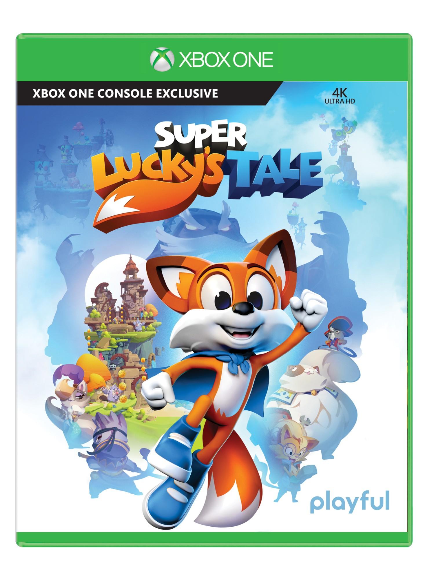 Microsoft Super Lucky's Tale, Xbox One Basic