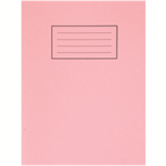 Silvine 9X7 EXER BOOKS 80PAGE 75GRM PINK