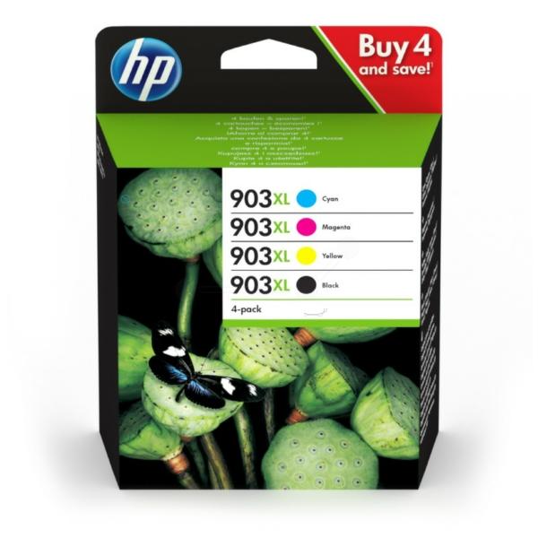 HP 3HZ51AE (903XL) Ink cartridge multi pack, 21,5ml + 3x9,5ml, Pack qty 4