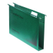 Rexel Crystalfile Classic Foolscap Suspension File 30mm Green (50)