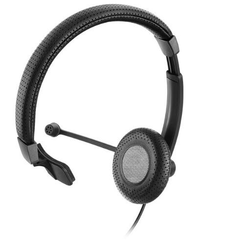Sennheiser SC 40 USB MS BLACK Monaural Head-band Black headset
