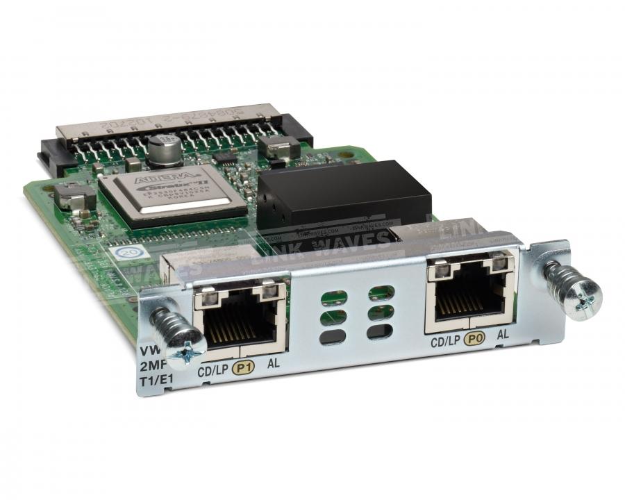 Cisco VWIC3-2MFT-T1/E1= voice network module