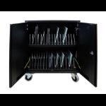 Leba NoteCart Flex Portable device management cart Black,Grey