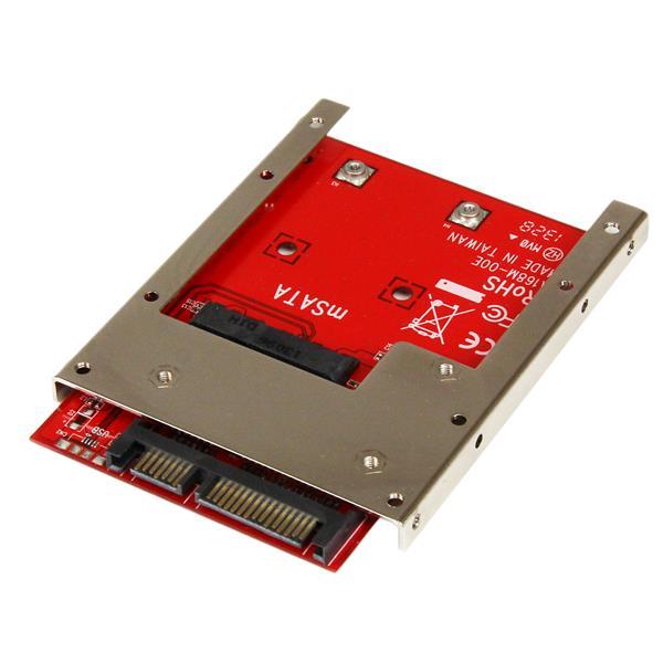 StarTech.com mSATA SSD to 2.5in SATA Adapter Converter SAT32MSAT257