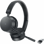 DELL WL5022 Headset Wireless Head-band Office/Call center Bluetooth Black