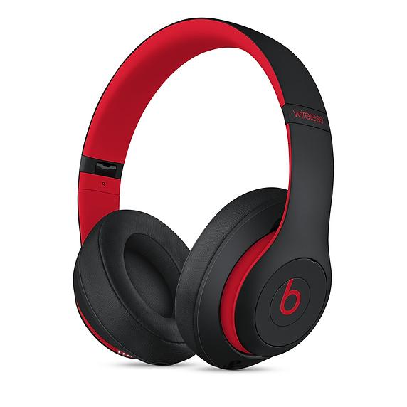 Apple Studio 3 Headphones Head-band Black,Red