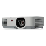 NEC NP-P554W Desktop projector 6000ANSI lumens LCD WUXGA (1920x1200) White data projector
