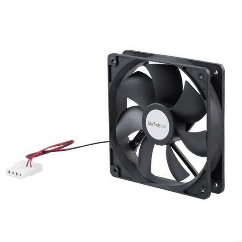 StarTech.com 120x25mm Dual Ball Bearing Computer Case Fan w/ LP4 Connector