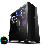 GAMEMAX Aurora RGB Midi Tempered Glass Gaming Case