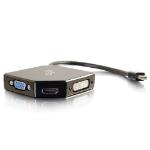 C2G 80929 Mini DisplayPort HDMI, VGA, DVI Black cable interface/gender adapter