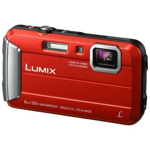 "Panasonic Lumix DMC-FT30 Compact camera 16.1 MP CCD 4608 x 3456 pixels 1/2.33"" Red"