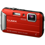 "Panasonic Lumix DMC-FT30 Compact camera 16.1 MP CCD 4608 x 3456 pixels 1/2.33"" Red"