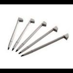 Zebra STYLUS PACK OF 5 . stylus-pen Zilver