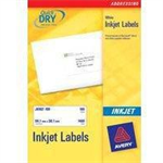 Avery J8161-25 White addressing label