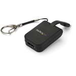 StarTech.com Portable USB-C to HDMI Adapter with Quick-Connect Keychain
