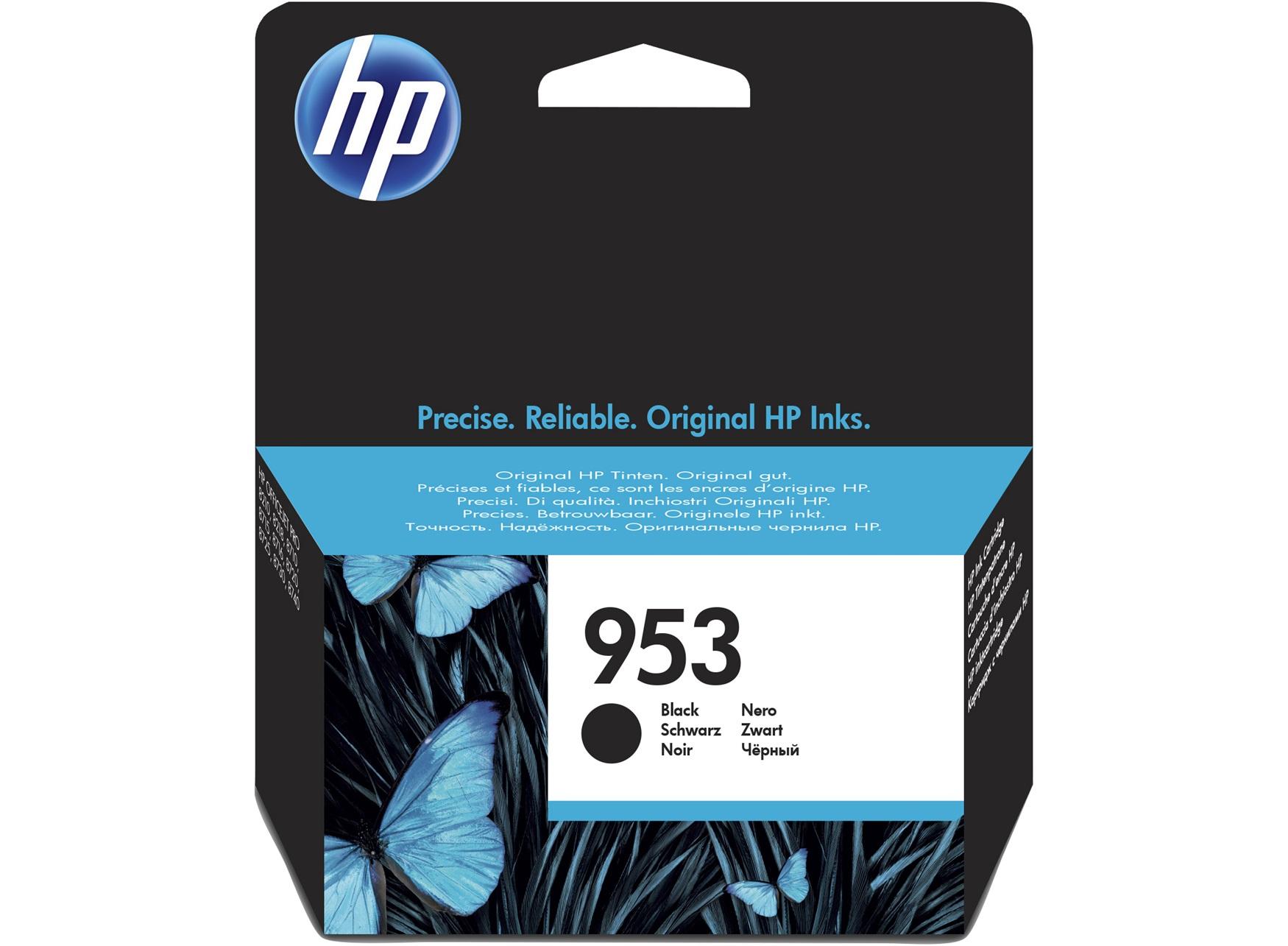 HP 953 Black Original Ink Cartridge 23.5ml 1000pages Black ink cartridge