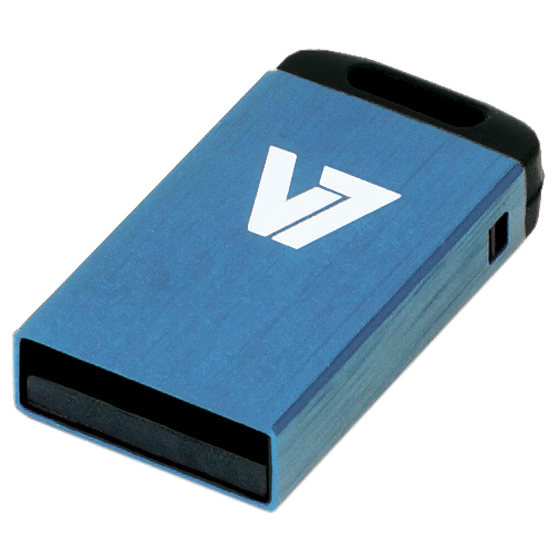 V7 Nano USB 2.0 32GB USB flash drive USB Type-A Blauw