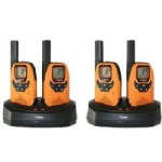 DeTeWe Outdoor 8000 Quad Case 8channels two-way radio