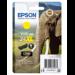 Epson Elephant Cartucho 24XL amarillo (etiqueta RF)