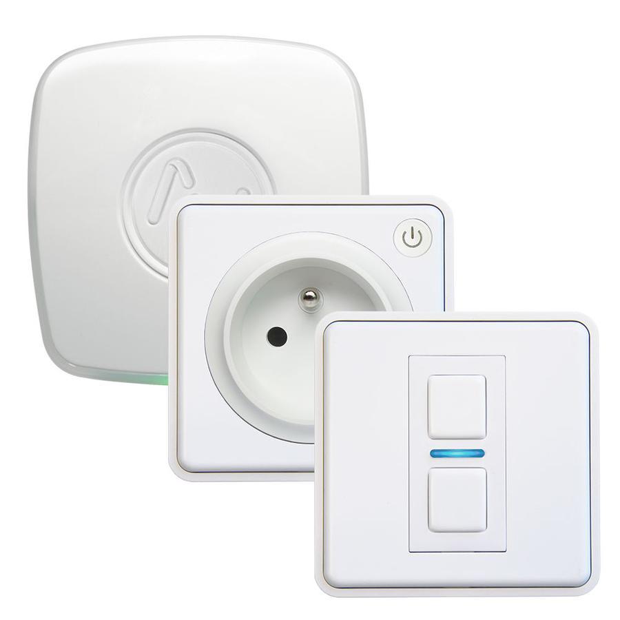 Lightwave L21412TEWH iluminación inteligente Smart socket kit Blanco