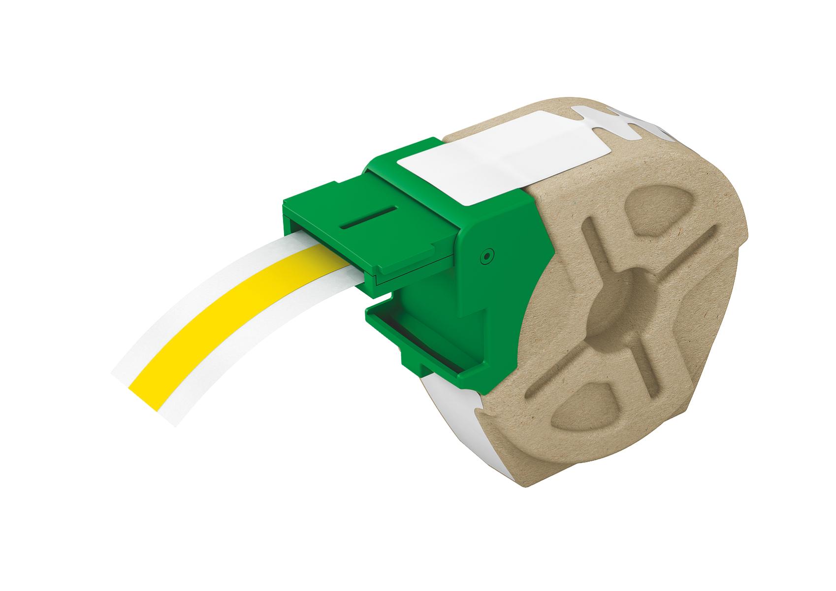 Leitz 70150015 Yellow printer label
