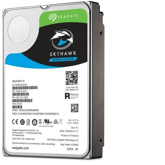 """Seagate Surveillance HDD Skyhawk AI 3.5"""" 14000 GB Serial ATA III"""