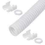 Cablenet 20mm LSOH Flexible Conduit 10m Kit White