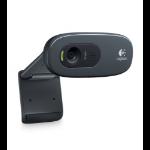 Logitech C270 3MP 1280 x 720Pixels USB 2.0 Zwart, Grijs webcam