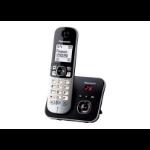 Panasonic KX-TG6821EB telephone DECT telephone Black,Silver Caller ID