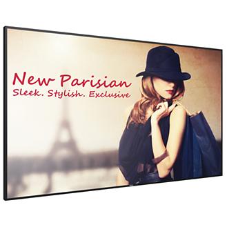 "Philips Signage Solutions 75BDL4150D/00 pantalla de señalización 189,2 cm (74.5"") LED 4K Ultra HD Pantalla plana para señalización digital Negro Android 7.1.2"
