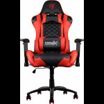 AEROCOOL ThunderX3 TGC12 Series Gaming Chair - Black/Red