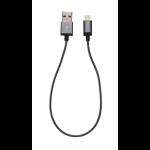 Verbatim Lightning Cable - Space Grey 30cm