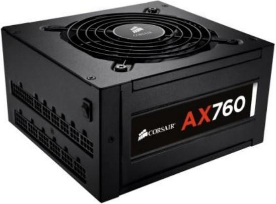 Corsair AX760 80Plus Platinum 760W ATX Black power supply unit