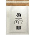 Jiffy Riggikraft Mailmiser Protective Envelopes Bubble-lined No.0 White 140x195mm Ref JMM-WH-0 [Pack 100]