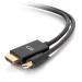 C2G Cable para adaptador pasivo de Mini DisplayPort[TM] macho a HDMI[R] macho, 1,8 m, 4K 30 Hz