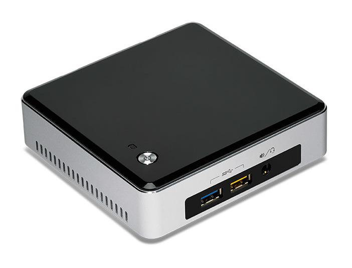 Intel NUC5i5RYK 1.6GHz i5-5250U UCFF Black,Silver