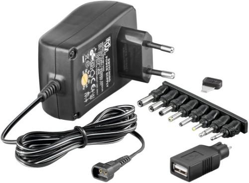 Microconnect PETRAVEL30 power supply unit 18 W Black