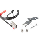 DELL 461-AAES cable lock Black,Stainless steel 1.8 m