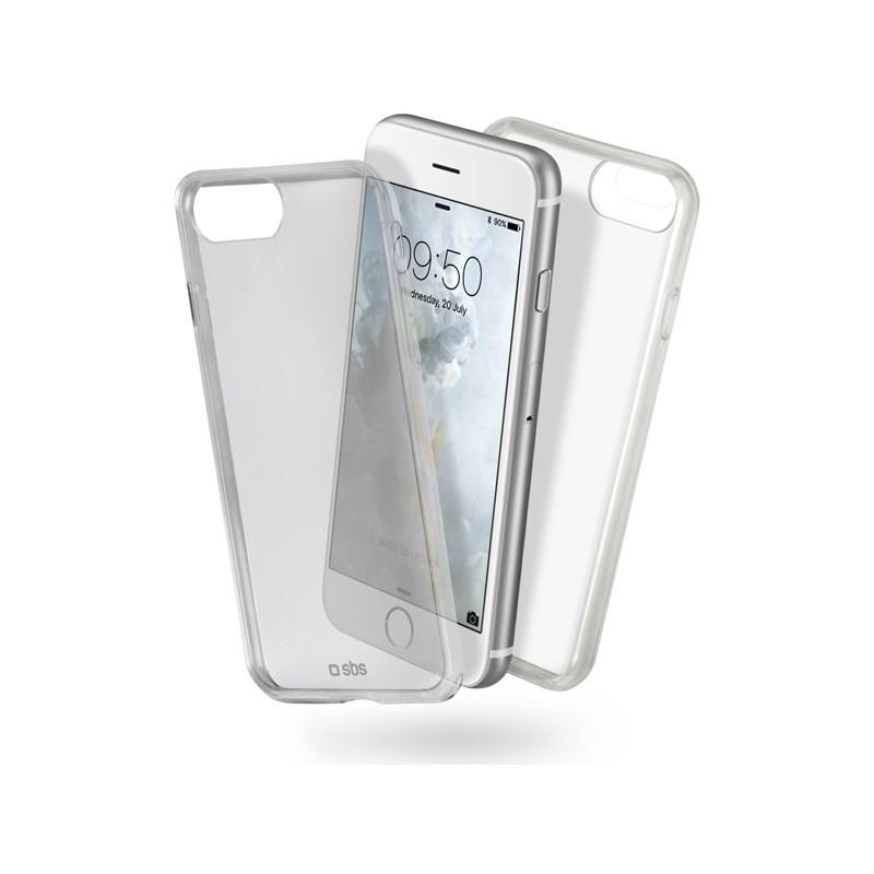 "SBS Clear Fit funda para teléfono móvil 11,9 cm (4.7"") Transparente"