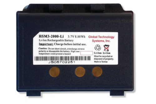 GTS HSM3-2000-LI handheld mobile computer spare part Battery