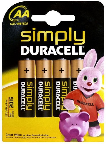 Duracell Simply AA 4 Pack Single-use battery Alkaline