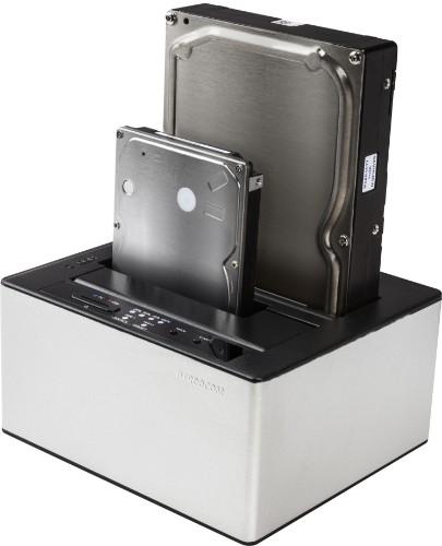 Freecom mDOCK Duplicator Black,Silver