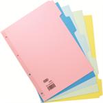 Elba 400008249 Cardboard Multicolour 50pc(s) divider