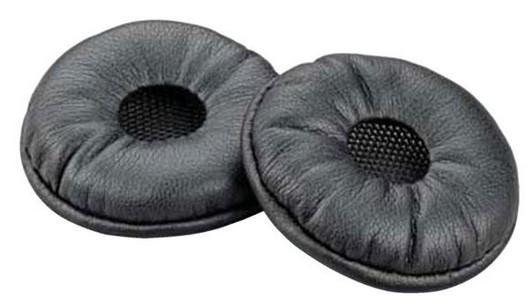 Plantronics 87229-01 headphone pillow Black Leatherette 2 pc(s)