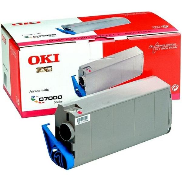 Oki 41963006 Toner magenta, 10K pages @ 5% coverage