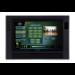 "AMX MVP-9000i 9"" 800 x 480pixels Multi-user Black touch screen monitor"