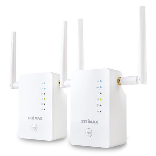 Edimax Gemini RE11 AC1200 Network repeater White