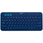Logitech K380 Bluetooth QWERTY Turkish Blue