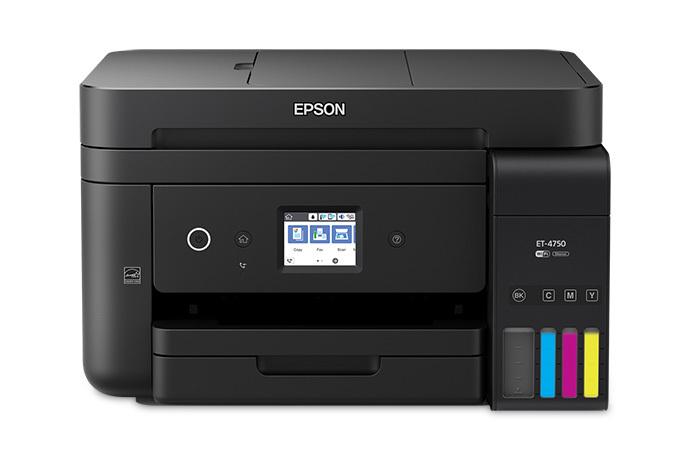 Epson EcoTank ET-4750 Inkjet 33 ppm 4800 x 1200 DPI A4 Wi-Fi